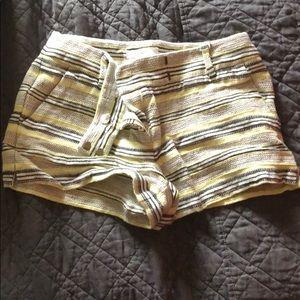 NWOT stripe shorts